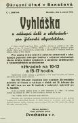 Omezení nákupní doby pro Židy v Benešově - preview
