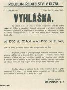 Omezení nákupní doby pro Židy v Plzni - preview