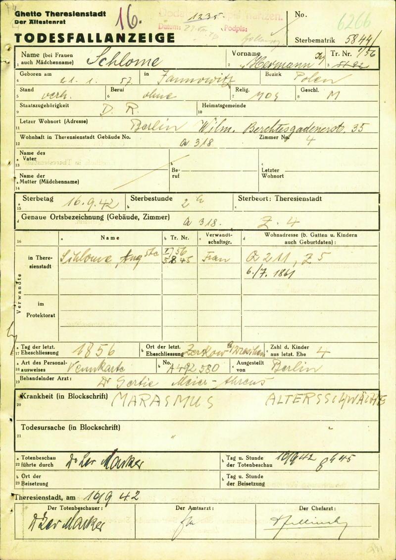Database of digitised documents | Holocaust