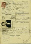 Agularová Hermína: Žádost o vydání cestovního pasu - preview