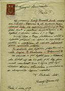 Brumlík Rudolf: Žádost o povolení pobytu - preview