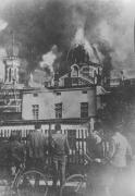 Hořící synagoga v Opavě, 10. 11. 1938 - preview